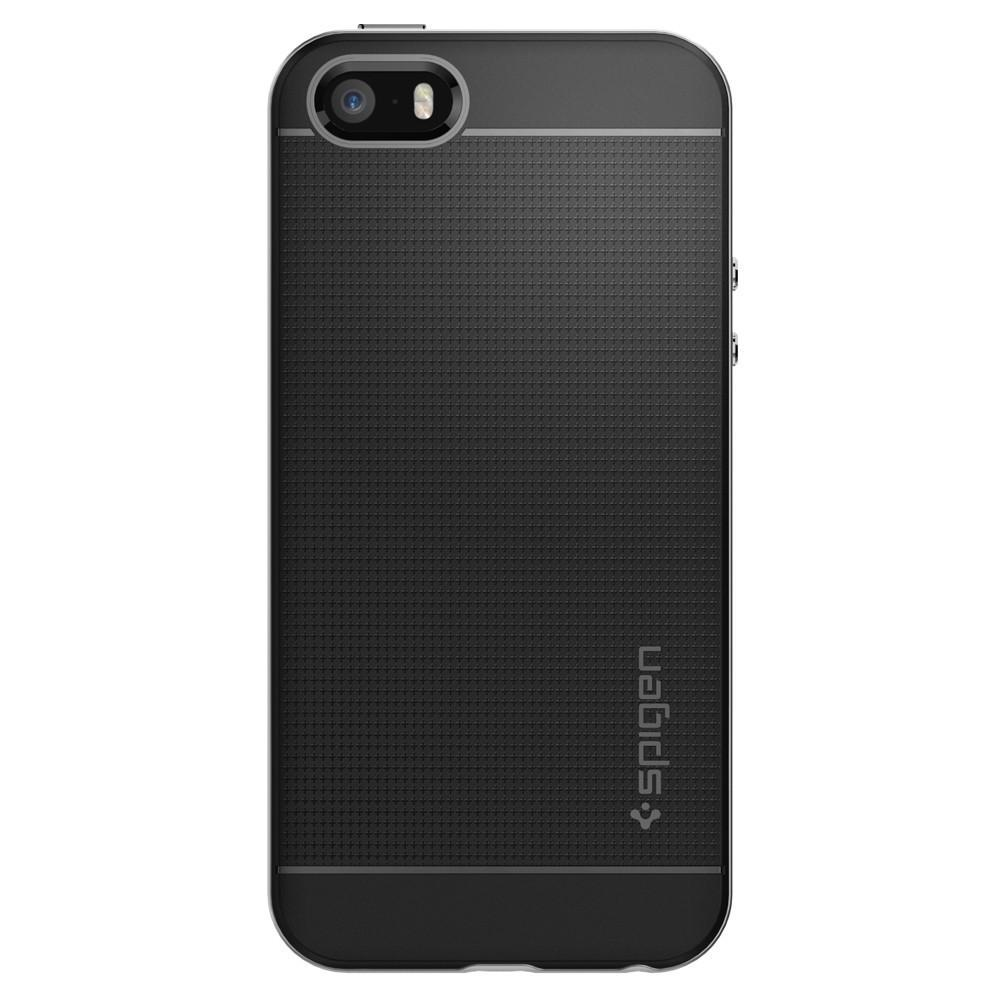 SPIGEN NEO HYBRID SERIES FOR iPHONE 5/5S/SE SATIN SILVER
