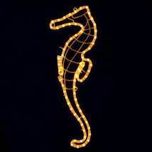 Christmas Rope Lights Seahorse Outdoor Yard Decoration Pools Ponds Display - $49.99