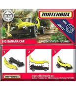 Matchbox - Big Banana Car: MBX Jungle #71/100 (2020) *Yellow / Power Grab* - $5.00