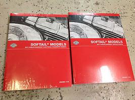 2011 Harley Davidson Softail Modelos Servicio Tienda Manual Reparación Juego Con - $208.68