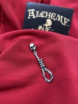 Alchemy Gothic E256  Hang Man's Noose  Earring IN HAND - $21.80