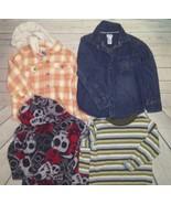 Huge Lot Boys Size 4 23 Shirts 7 Pants 2 Jackets Old Navy Garanimals Cra... - $39.60