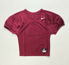 Nike Stock Core Practice Football Jersey Youth Small Medium Burgundy 846332 - $9.99