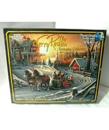 Horse Drawn Carriage Terry Redlin PLEASURES OF WINTER 1000 pc Puzzle - $36.58