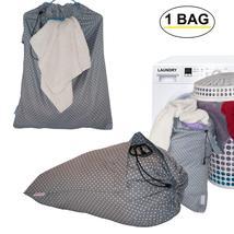 Extra Large Laundry Bag Cotton Drawstring Bags Washing Basket Fabric Fol... - $25.99+