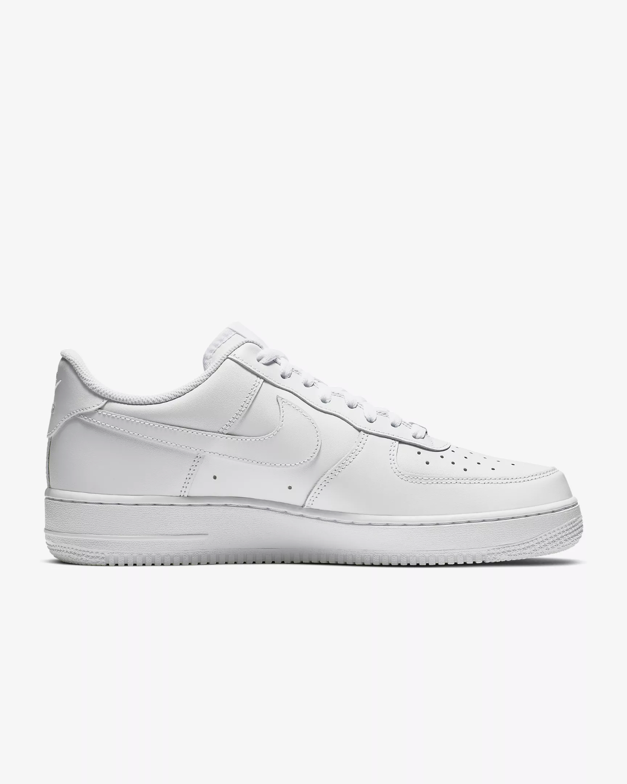 Nike Air Force 1 '07 Trainers White / Shoes / Leather Trainers image 2