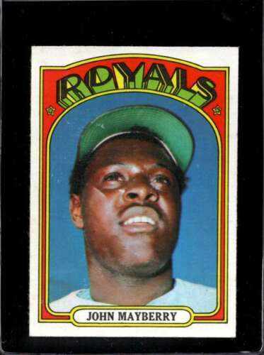 1972 TOPPS #373 JOHN MAYBERRY VG+ ROYALS  *X2940