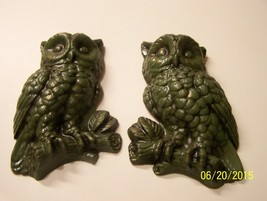Vintage Owl Wall Plaques - $15.00