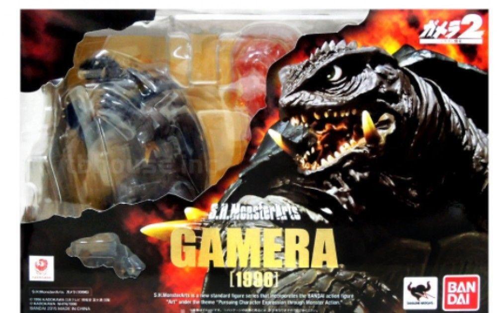 NEW 1996 GAMERA 2 figure S.H MONSTERARTS advent ATTACK OF LEGION kaiju BANDAI