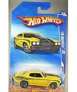 2010 Hot Wheels #90 Nightburnerz 2/10 '70 CHEVELLE SS Yellow Variant w/C... - $9.00