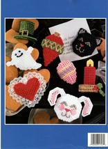 Extra special Holiday Magnets in Plastic Canvas 3-D Magnets 14 Designs NOS - $5.95