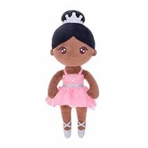 Gloveleya Baby Girl Gifts Doll - Soft Plush Toys Stuffed Rag Dolls Bronze Ballet