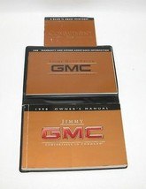 1998 GMC Jimmy Factory Original Owners Manual Book Portfolio #40 - $18.76