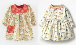 NEW Farm Animals Chicken Goose Bunny Girls Dress 2T 3T 4T 5T 6 7 Easter - $12.99