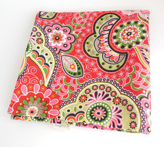 Tang Depot Square Pillow Cover in Pink Paisley Funky Flowers TangDepot - $12.95