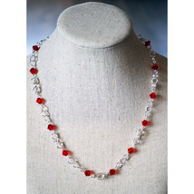 Crystal Beaded Chain Necklace image 3