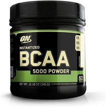 Optimum Nutrition Instantized BCAA Powder, Unflavored, Keto - $31.99
