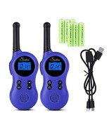 Swiftion Rechargeable Kids Walkie Talkies 22 Channel 0.5W FRS/GMRS Walki... - $32.85