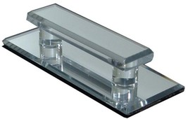 Clear Acrylic Large Stick-On Mirror Pull - $12.11