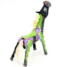 "Handmade Alebrijes Oaxacan Wood Carved Painted Folk Art Horse 5"" Figurine image 4"