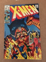 X-Men #51 Marvel Comic Book 1968 VF- 7.5 Condition 1st Eric The Red Beas... - $134.99