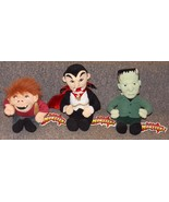 1999 Universal Monsters Dracula Frankenstein and Hunchback of Notre Dame... - $59.99