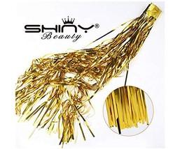 ShiDianYi Metallic Foil Fringe-Backdrops-Gold-6FTX8FT Tinsel Party/Windo... - $277,00 MXN