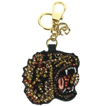 NEW/AUTHENTIC GUCCI Rhinestone Tiger Keychain, Multicolor - $399.00