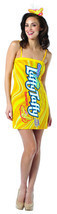 Laffy Taffy Banana tube dress Costume Dress Adult One Size 4-10 - $10.99