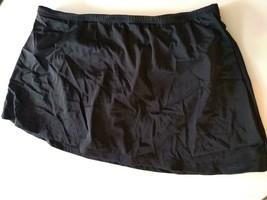 24th & Ocean Tummy Control Black Swim Shorts Size Large image 1