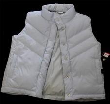 Gap Kids Light Blue & Gingham Checks Puffy Reversible Down Vest XL - 12 ... - $29.99