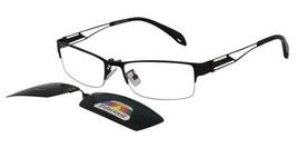 Reading Glasses Men Womens Clip On Lens s9037-black Light Weight RX s903... - $25.91+
