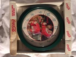 1998 Coca Cola Cola Cemorative Clock - $4.94