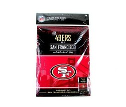 """San Francisco 49ers 16"""" by 12"""" Tin Sign & Magnet - NFL - $11.63"""