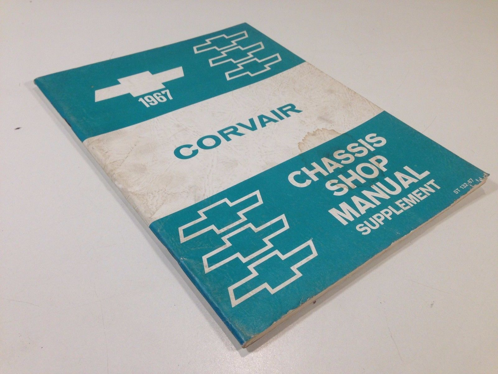 1967 Chevrolet Corvair Factory Chassis Shop Manual Supplement Original OEM