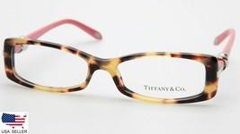 New Tiffany & Co Tf 2016 8064 Tort Pink Eyeglasses Frame 51-15-135 B27 Mm Italy - $103.93