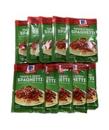 10 McCormick Thick And Zesty Spaghetti Sauce Mix - 1.37oz Packs - $59.35