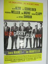 GLENGARRY GLEN ROSS Poster (2005) Alan Alda, Liev Schreiber, Jeffrey Tam... - $39.59
