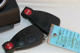 Mercedes Ignition Start Switch Module & Key Fob Keyless Entry Remote 2155450808 image 5
