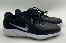 Nike Vapor Pro Men Golf Shoes Size 9 Black Silver White AQ2196-001 - $49.49