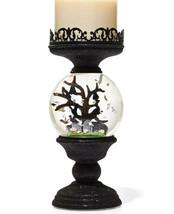 Bath & Body Works Halloween Cemetery Globe Light Up 3 Wick Candle Holder... - $102.32