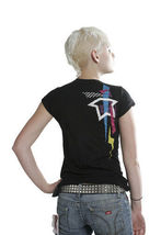 Famous Stars & Straps Black Taka Punk Travis Barker Juniors Tee Size: Small image 3