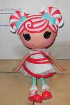 "2009 MGA Lalaloopsy Mint E Stripes 12"" Full Size Doll Christmas - $23.38"