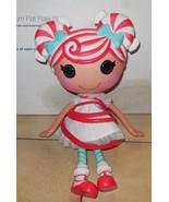 "2009 MGA Lalaloopsy Mint E Stripes 12"" Full Size Doll Christmas - $23.38"