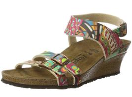 Birkenstock Papillio ELLEN African Wax Raspberry Sandal US 11   EU 42 - $75.99