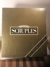 Scruples Board Game 2nd edition 1987 Complete Set - $34.60