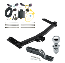 Trailer Tow Hitch For 14-19 Dodge Durango Complete Package w/ Wiring 1-7... - $226.98
