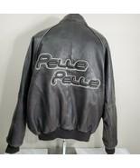 Vintage Pelle Pelle Marc Buchanon Leather Jacket Men's 48 Coat Hip Hop - $179.99