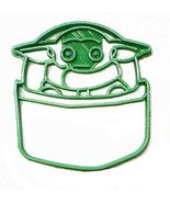 Baby Yoda In Pod Adorable Green Space Child Star Wars Cookie Cutter USA ... - $2.99