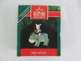 Hallmark Keepsake Ornament Piglet And Eeyore Christmas - $19.79